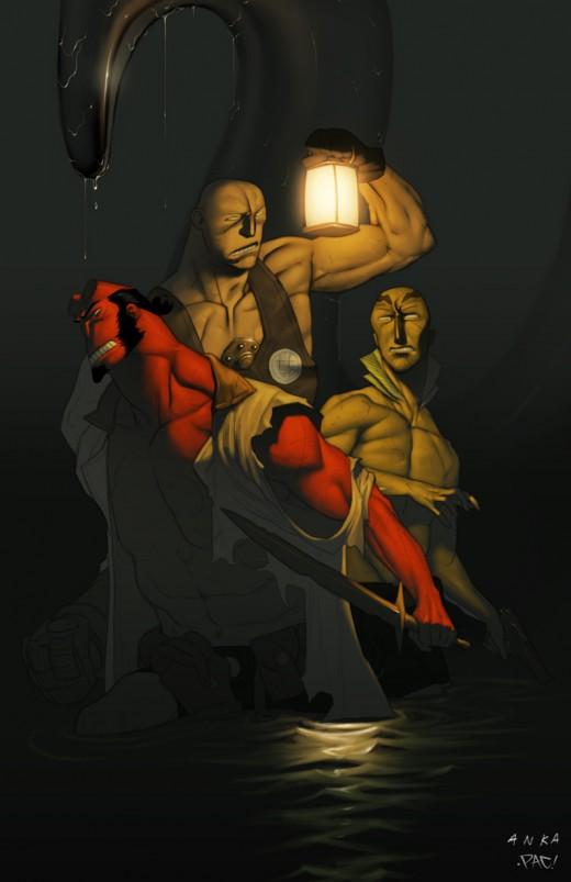 Hellboy Colablo